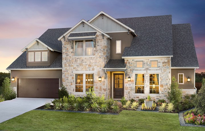 Canyon Falls Meritage Homes Rome Exterior