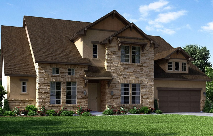 Canyon Falls Meritage Homes Rome Elevation B