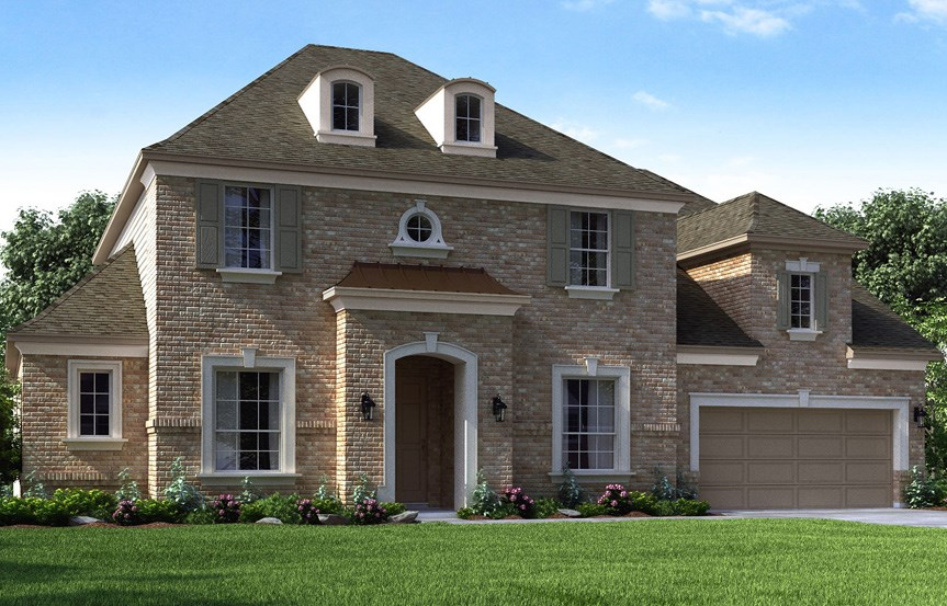 Canyon Falls Meritage Homes Rome Elevation D