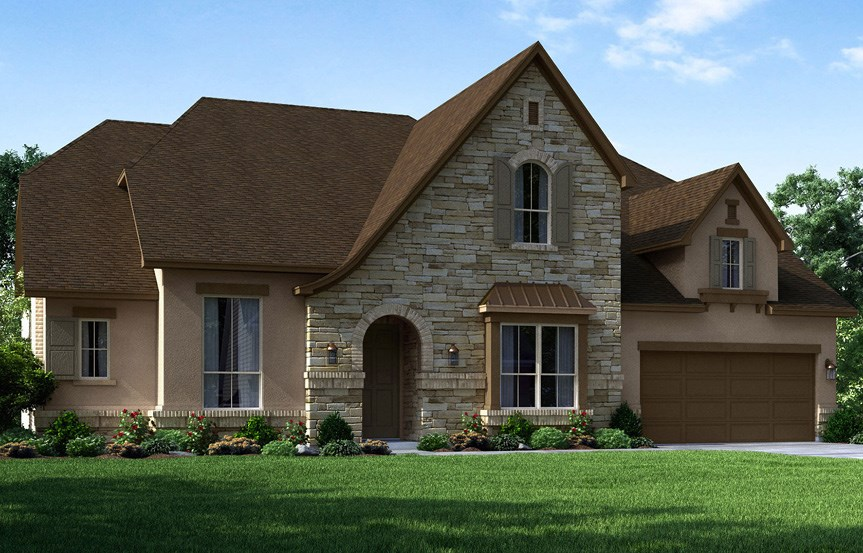 Canyon Falls Meritage Homes Rome Elevation E