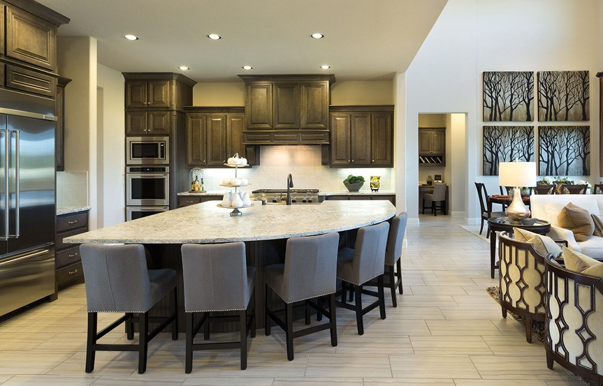 Canyon Falls Meritage Homes Rome Kitchen