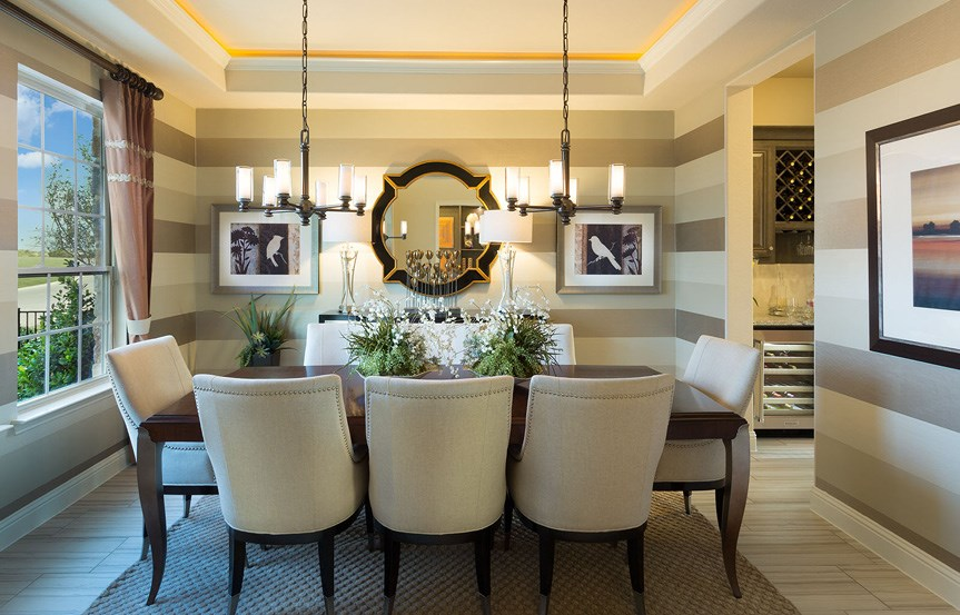 Canyon Falls Meritage Homes Rome Dining Room