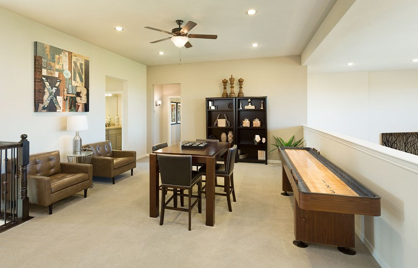 Canyon Falls Meritage Homes Rome Game Room