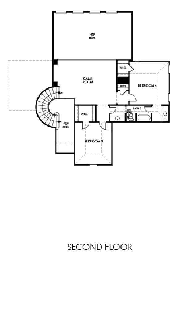 Canyon Falls Meritage Homes Rome Floor Plan