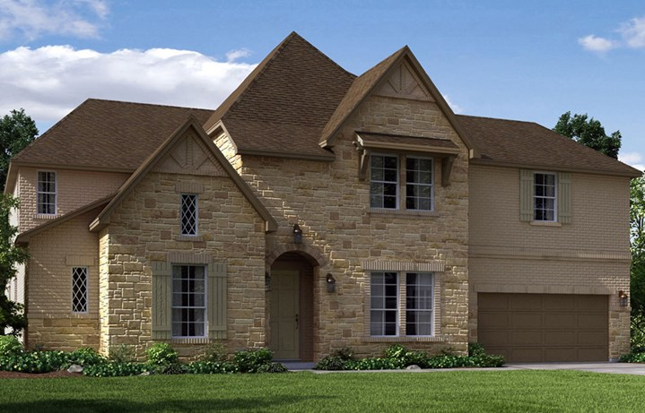 Canyon Falls Meritage Homes London Elevation F