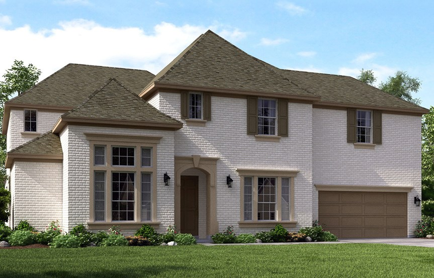 Canyon Falls Meritage Homes London Elevation D