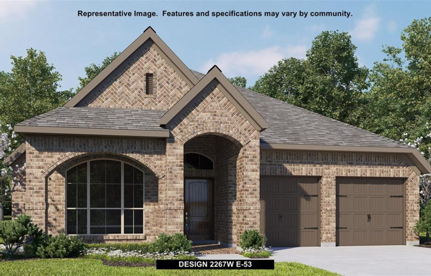 Canyon Falls Perry Homes Design 2267w Elevation E-53