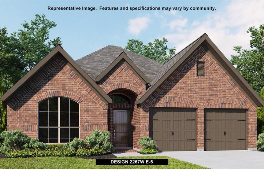 Canyon Falls Perry Homes Design 2267w Elevation E-5
