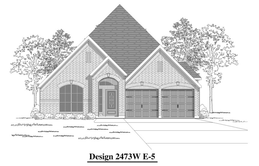 Canyon Falls Perry Homes Design 2473w Elevation E-5