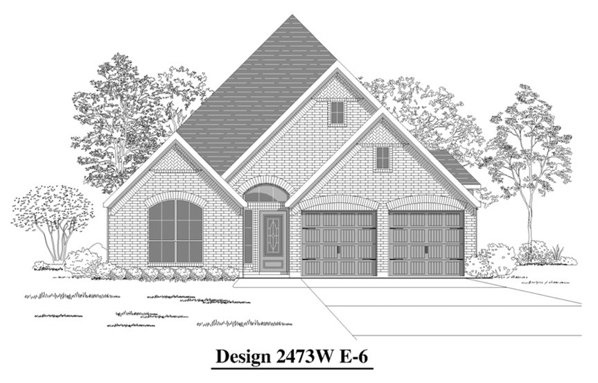 Canyon Falls Perry Homes Design 2473w Elevation E-6