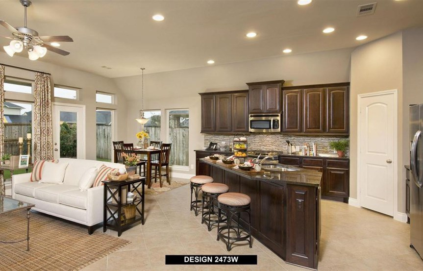 Canyon Falls Perry Homes Design 2473w Kitchen