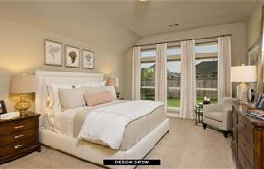 Canyon Falls Perry Homes Design 2473w Master Bedroom