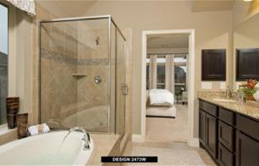 Canyon Falls Perry Homes Design 2473w Master Bath