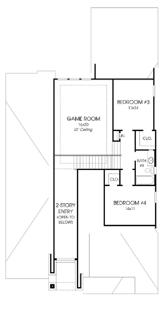 Canyon Falls Perry Homes Design 2798w Floor Plan