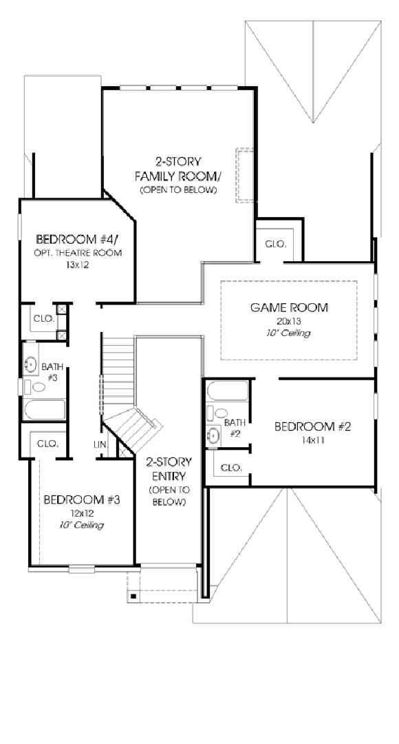Canyon Falls Perry Homes Design 2950w Floor Plan
