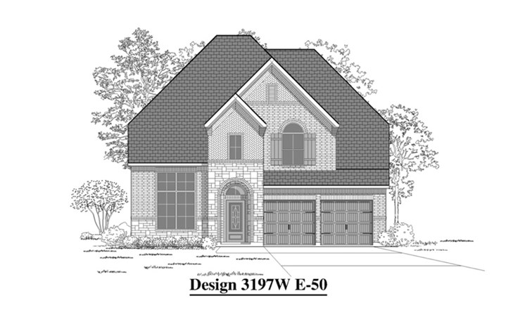 Canyon Falls Perry Homes Design 3197w Elevation E-50