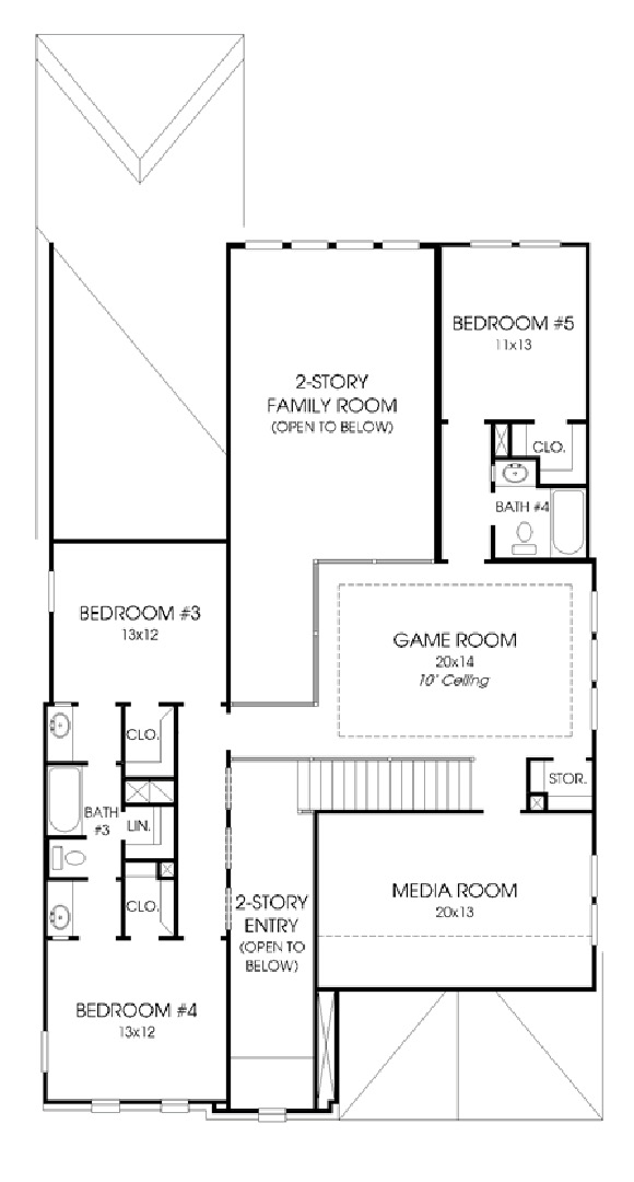 Canyon Falls Perry Homes Design 3500w Floor Plan