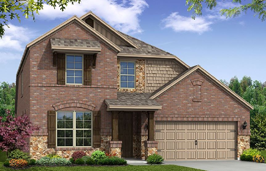 Canyon Falls Beazer Homes Avalon Elevation FCL