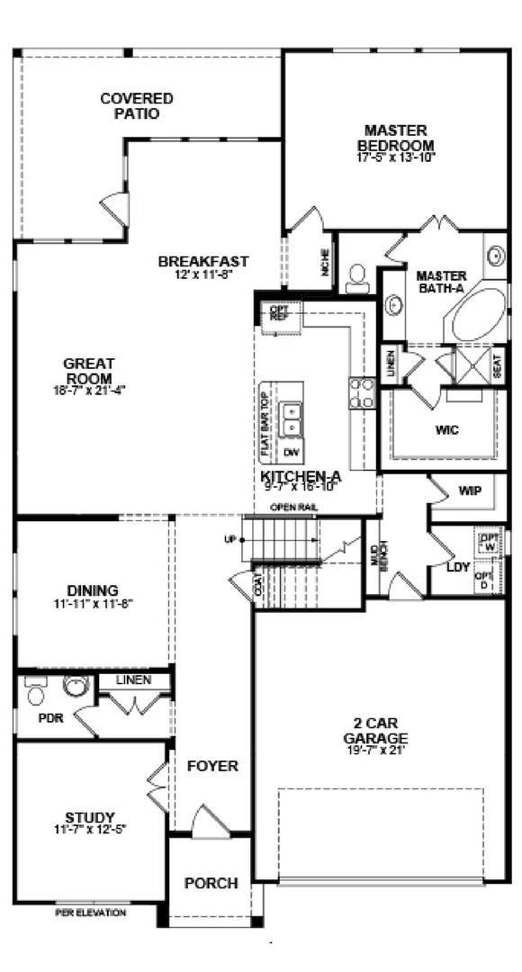 Beazer homes galveston for Beazer homes floor plans