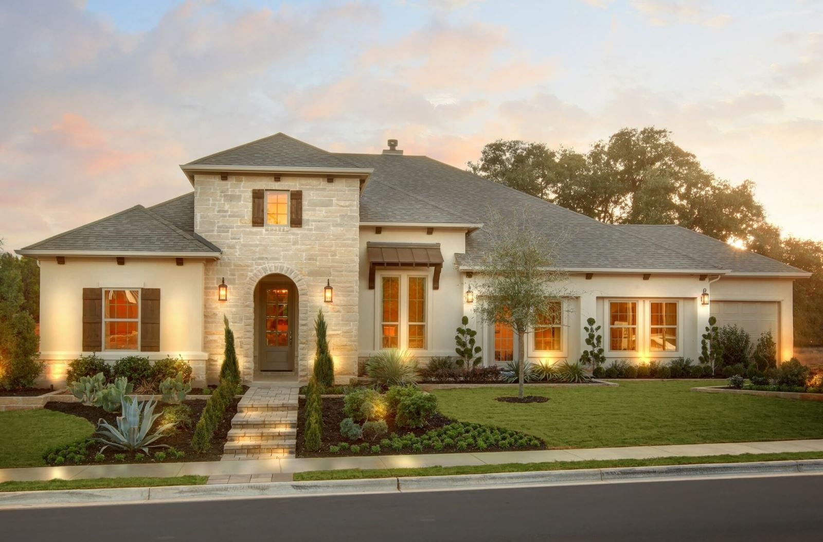 Canyon falls new homes in northlake tx country malvernweather Gallery