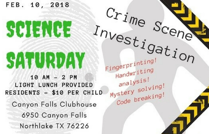 Science Saturday Event for Canyon Falls Residents | Northlake, TX