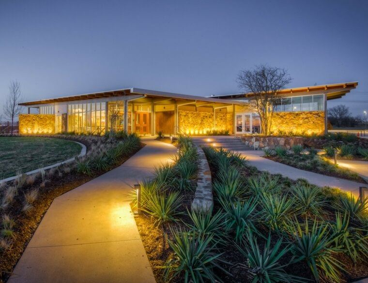 Canyon Falls Amenity Center in Northlake, TX