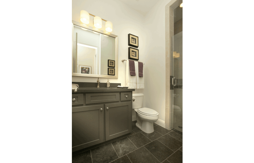 Drees Homes Plan Ravenna Bathroom in Canyon Falls