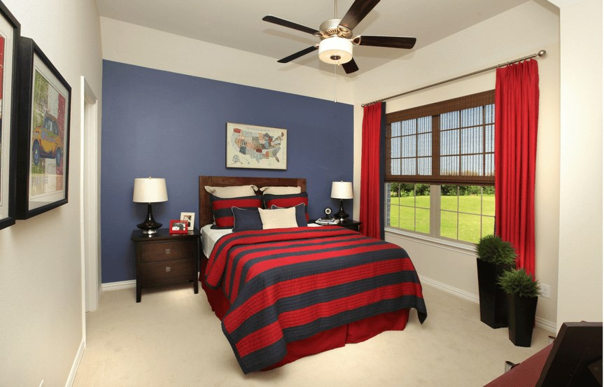 Drees Homes Plan Ravenna Guest Bedroom in Canyon Falls