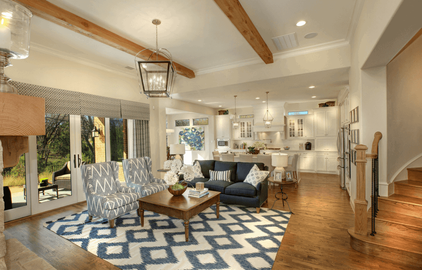 Drees Homes Plan Ravenna Living Room in Canyon Falls