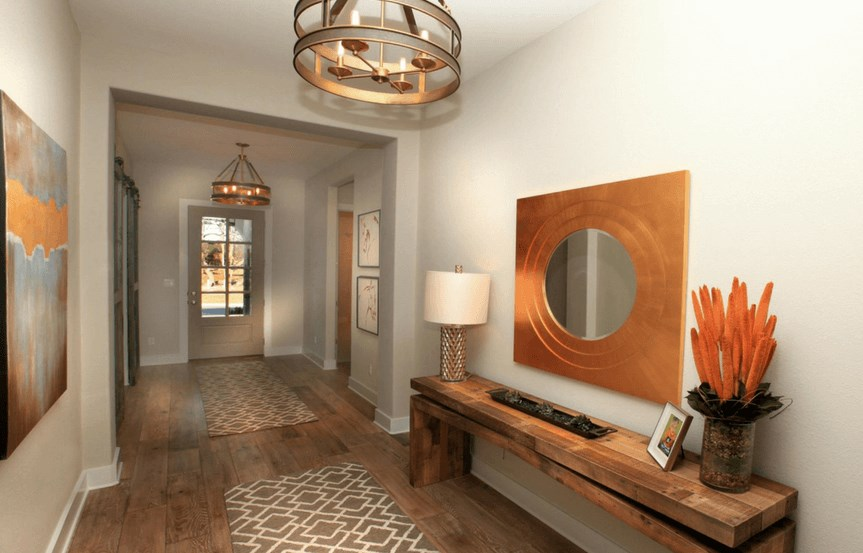 Drees Homes Plan Tinsley Foyer in Canyon Falls