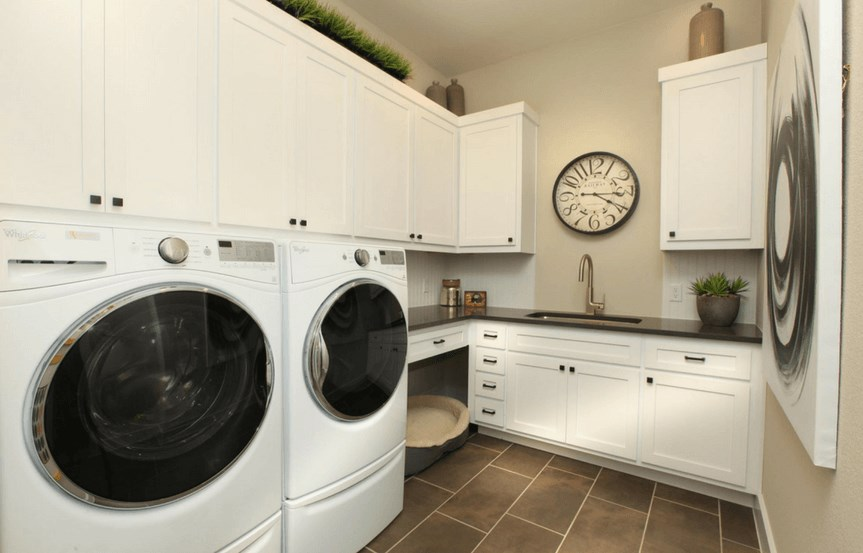 Drees Homes Plan Tinsley Laundry Room in Canyon Falls