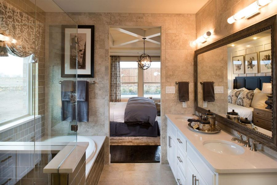 Ashton Woods Home in Canyon Falls Master Bath