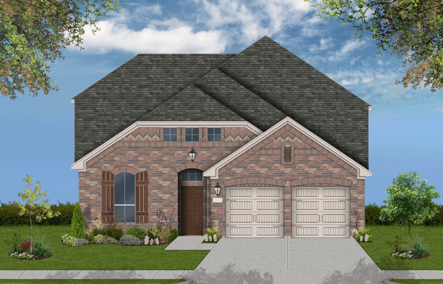 Coventry Homes Plan 2765 Elevation A in Canyon Falls