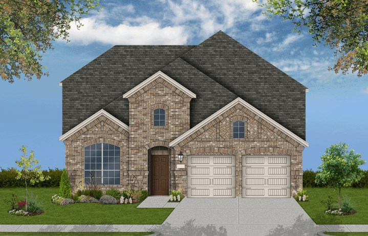 Coventry Homes Plan 2765 Elevation B in Canyon Falls