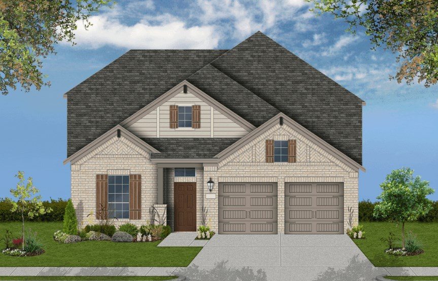 Coventry Homes Plan 2765 Elevation C in Canyon Falls