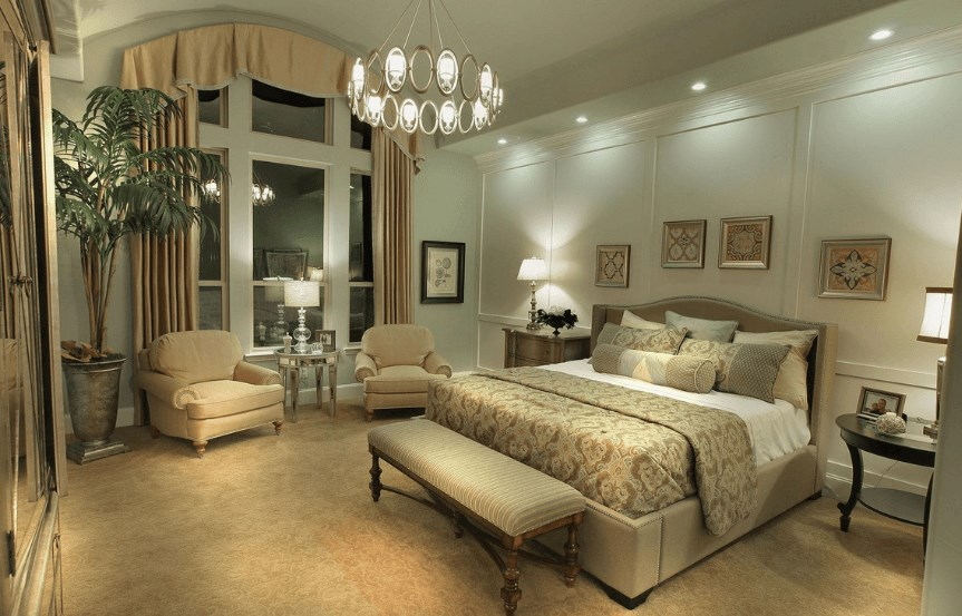 Drees Homes Plan Julian Master Bedroom in Canyon Falls