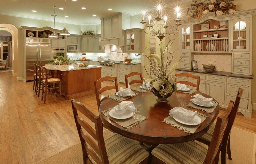 Drees Homes Plan Julian Eating Nook in Canyon Falls