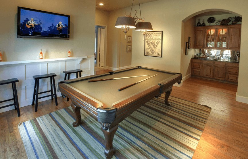 Drees Homes Plan Julian Game Room in Canyon Falls