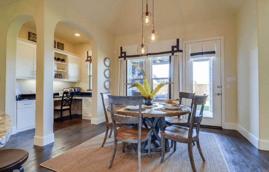 Drees Homes Plan Marley Breakfast Room in Canyon Falls