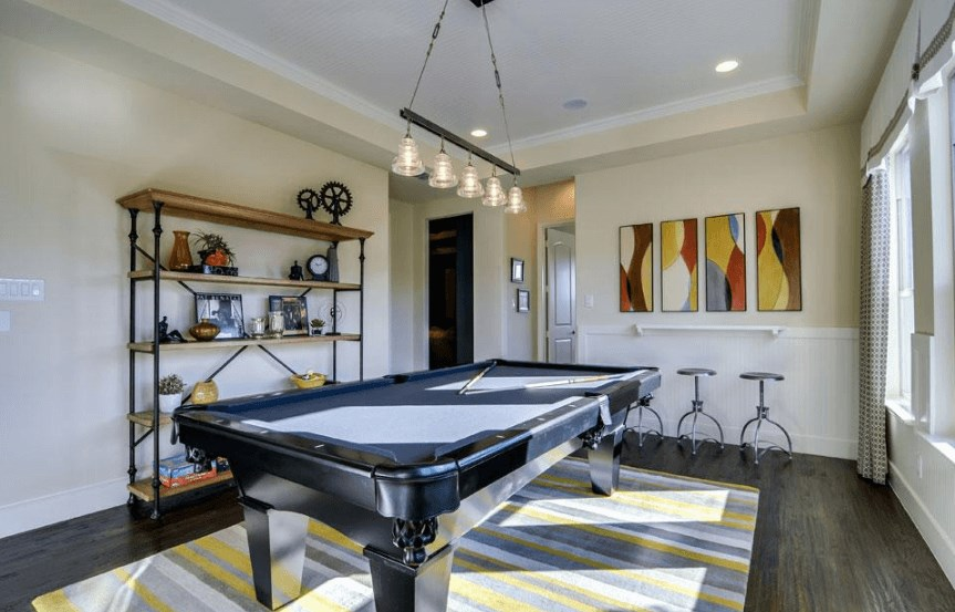 Drees Homes Plan Marley Game Room in Canyon Falls