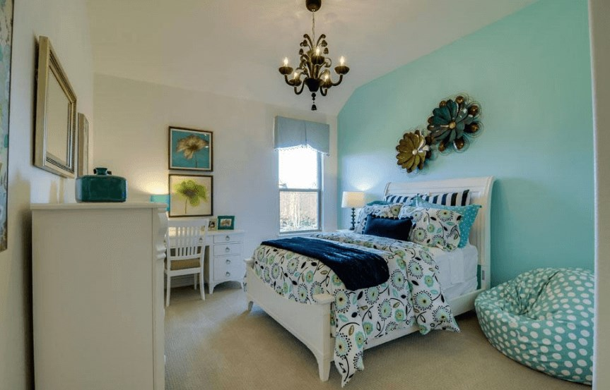 Drees Homes Plan Marley Bedroom 3 in Canyon Falls