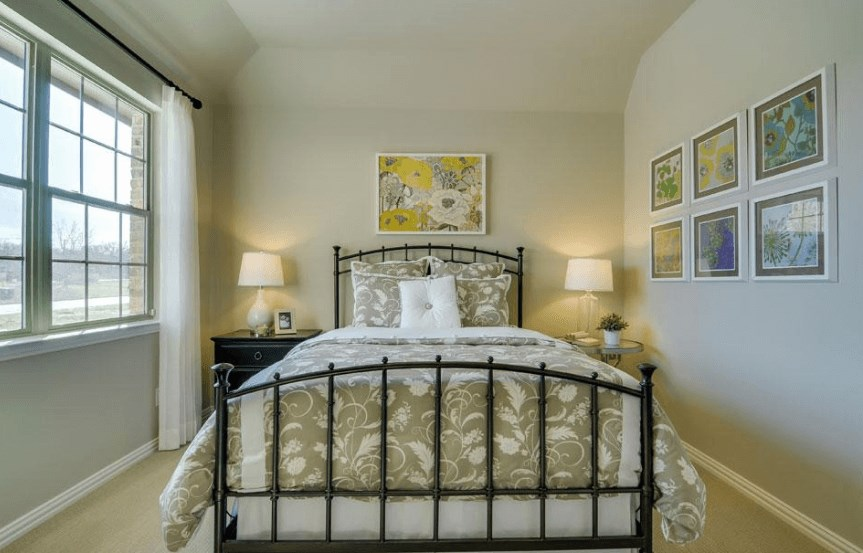 Drees Homes Plan Marley Bedroom 5 in Canyon Falls