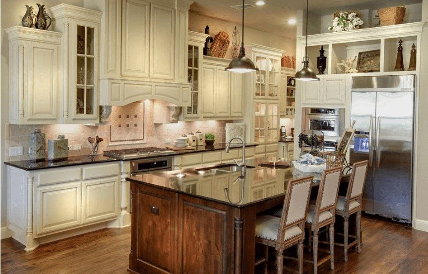 Drees Homes Plan Lauren II Kitchen in Canyon Falls
