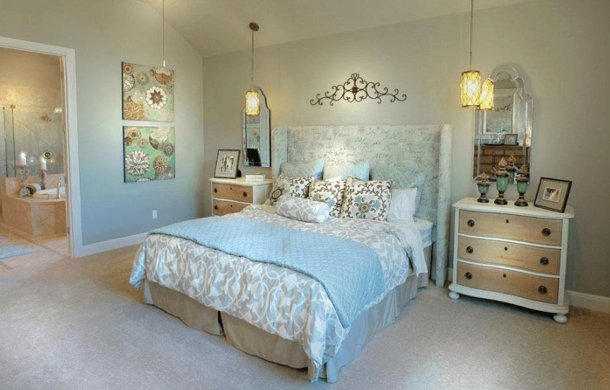 Drees Homes Plan Lauren II Bedroom in Canyon Falls