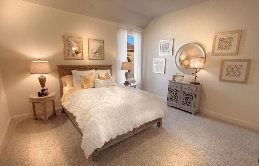Drees Homes Plan Lauren II Bedroom 2 in Canyon Falls