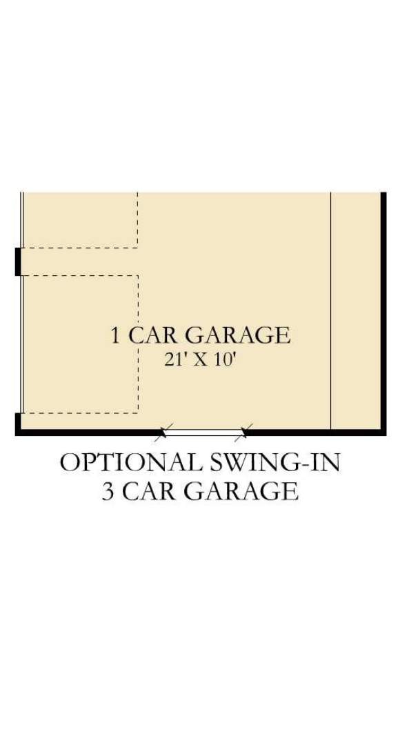 Canyon Falls Village Builders McKinley Opt Swing Garage