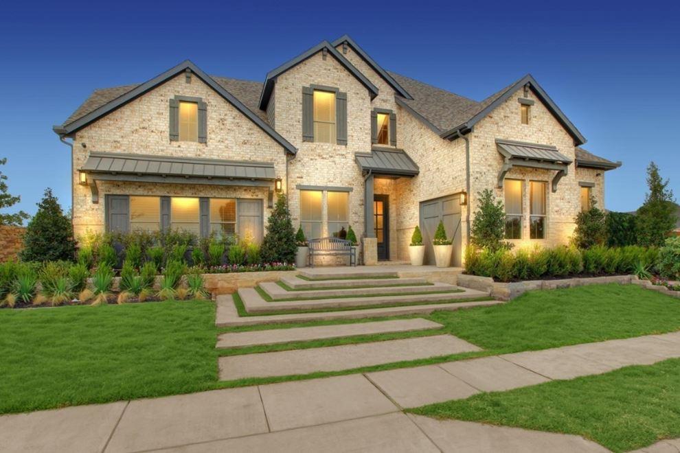 Drees Homes Model Home In Canyon Falls Northlake Texas Homes