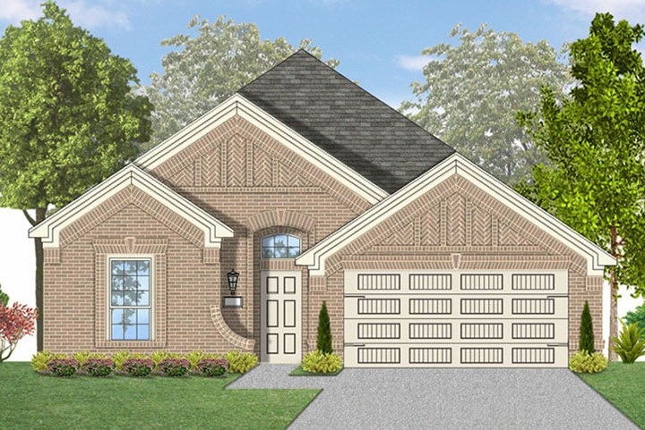 Canyon Falls Coventry Homes Plan 1901 Elevation A
