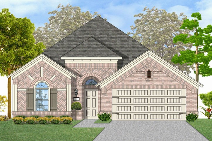 Canyon Falls Coventry Homes Plan 1901 Elevation B