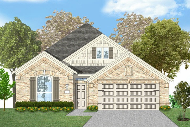 Canyon Falls Coventry Homes Plan 1901 Elevation C